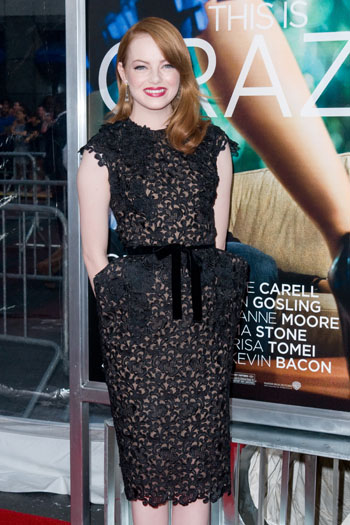Emma Stone in Tom Ford