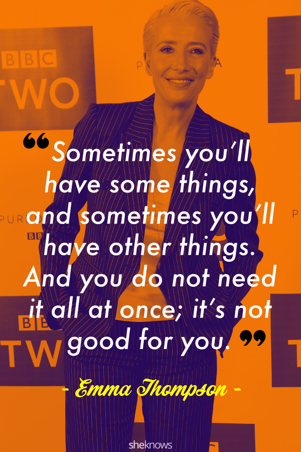 Emma Thompson quote about appreciation