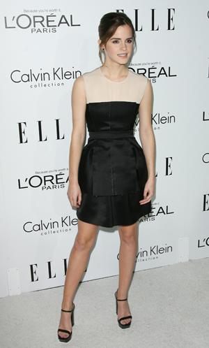 Emma Watson at premiere