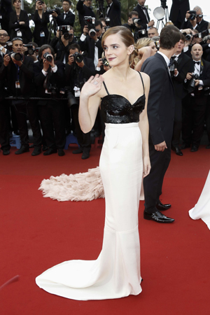 Emma Watson Cannes The Bling Ring premiere dress