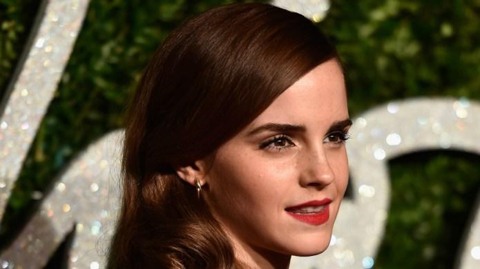 Emma Watson is definitely not dating