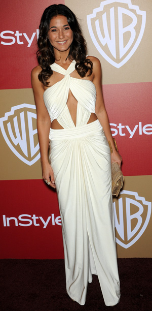 Emmanuelle Chriqui at the 2013 Golden Globes
