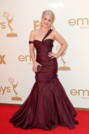 Kelly Osbourne at the 2011 Emmy Awards