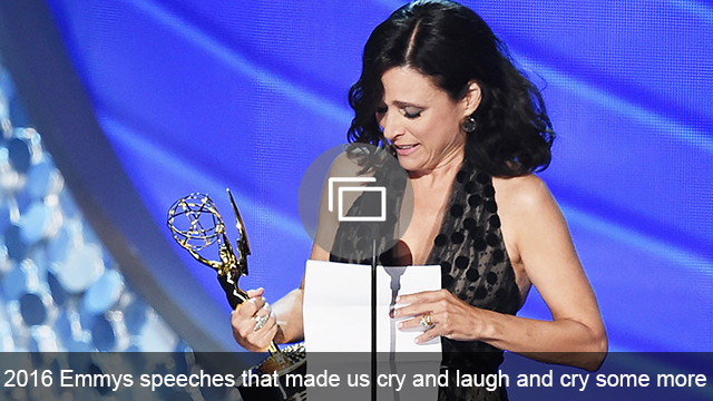 Emmys 2016 speeches