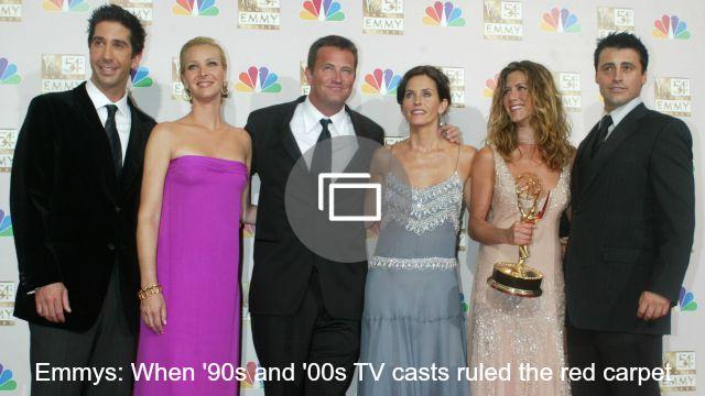 emmys 90s tv casts slideshow