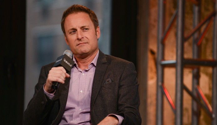 Chris Harrison Is All Smiles (&