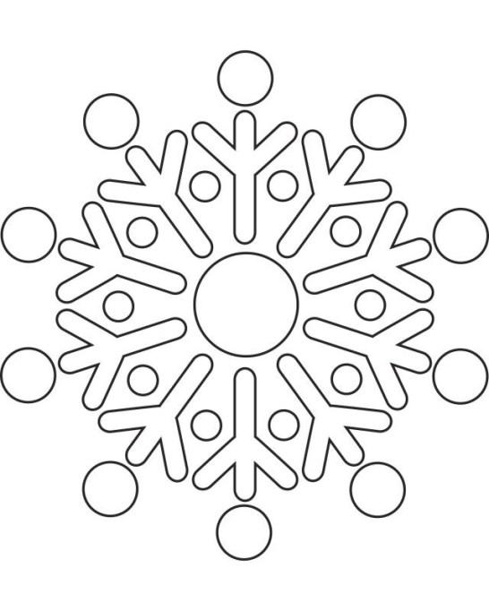 free printable snowflake templates