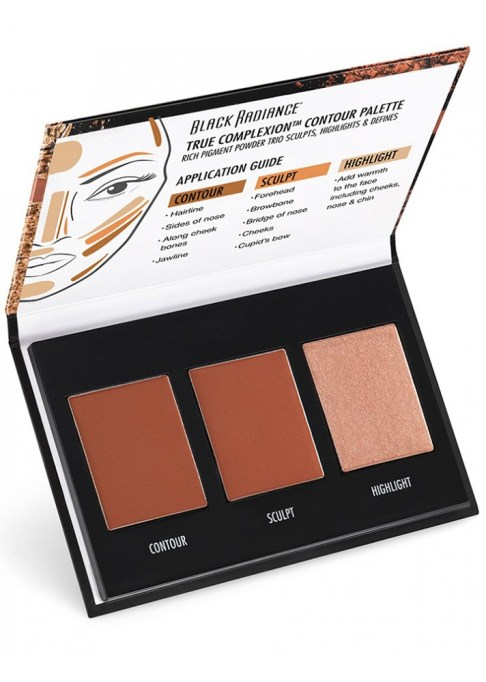 Contour Palettes For Almost Every Skin Tone: Black Radiance True Complexion Contour Palette in Light to Medium   Summer Makeup 2017