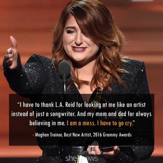 Meghan Trainor 2016 Grammys