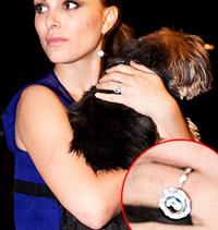 Natalie Portman engagement ring