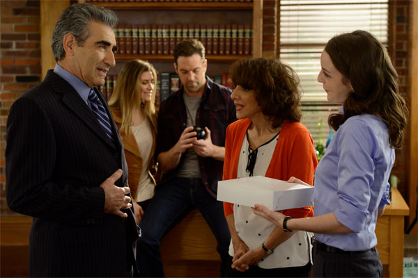 Working The Engels Andrea Martin and Eugene Levy