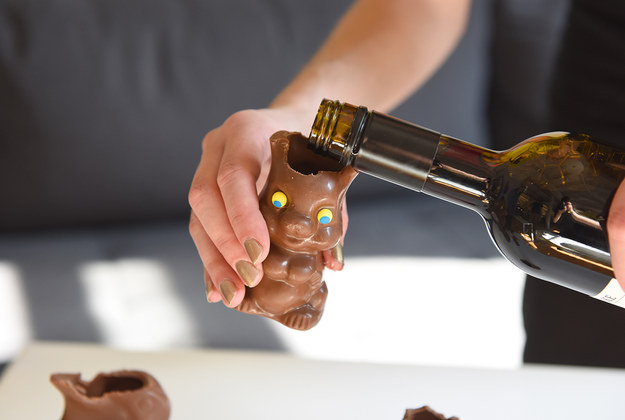 chocolate easter bunny hack