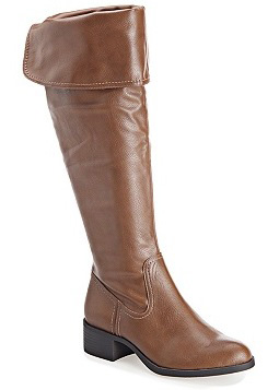 Enya Tall Over the Knee Cuff Boot
