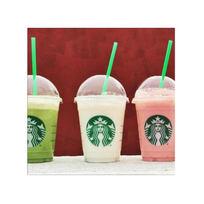 Yogurt Pineapple Coconut Frappuccino Starbucks