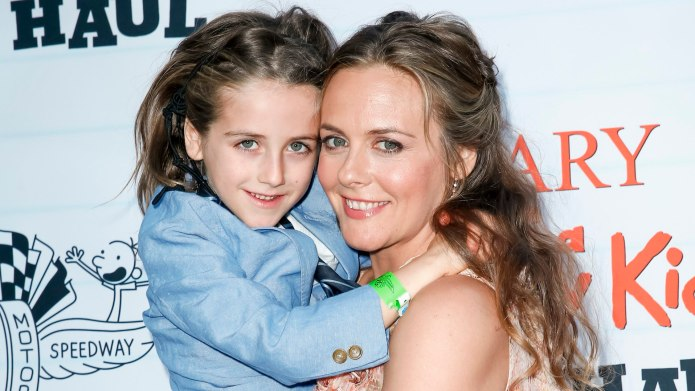 Alicia Silverstone Unfazed That Son Bear