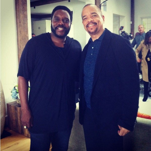 Ice T and Chad L Coleman
