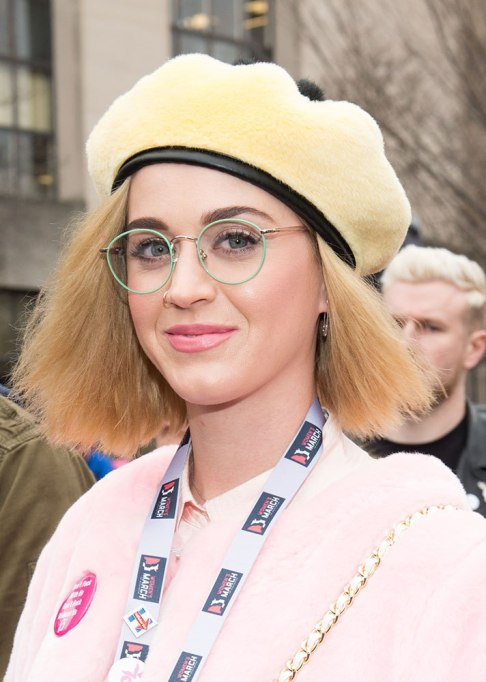 Best Celebrity Hair Transformations of 2017: Katy Perry in a cute bob