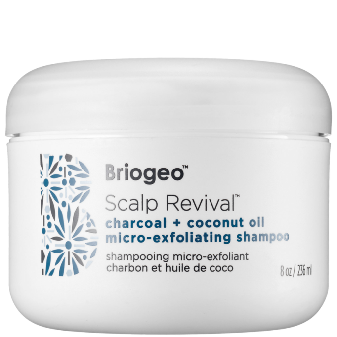 Scalp Exfoliators That'll Cure Your Hair Probs: Briogeo Scalp Revival Charcoal + Coconut Oil Micro-Exfoliating Shampoo | Fall Hair Care