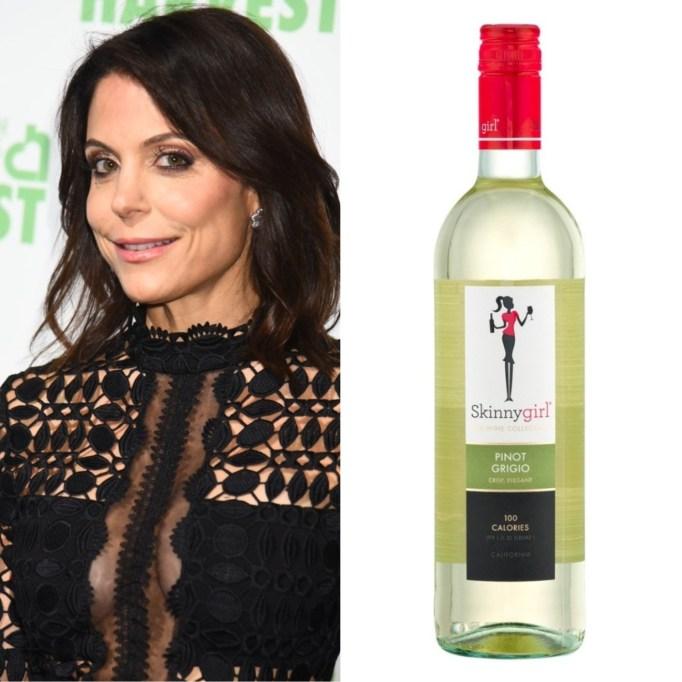 Bethenny Frankel 2015 Skinnygirl Pinot Grigio
