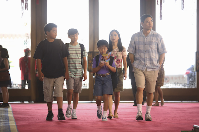 Still of Randall Park as Louis Huang on 'Fresh Off the Boat'