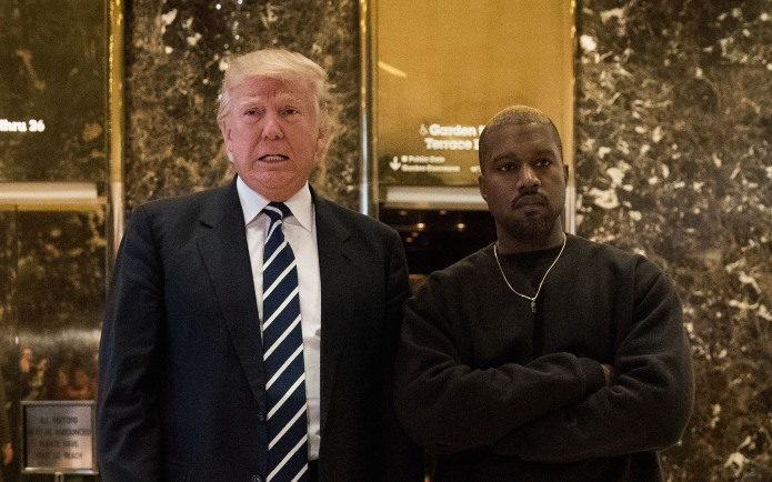 Kanye's not 'American' enough for Donald