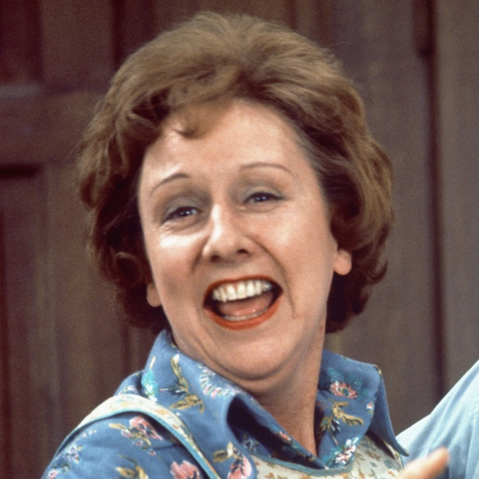 Jean Stapleton as Edith Bunker on All in the Family
