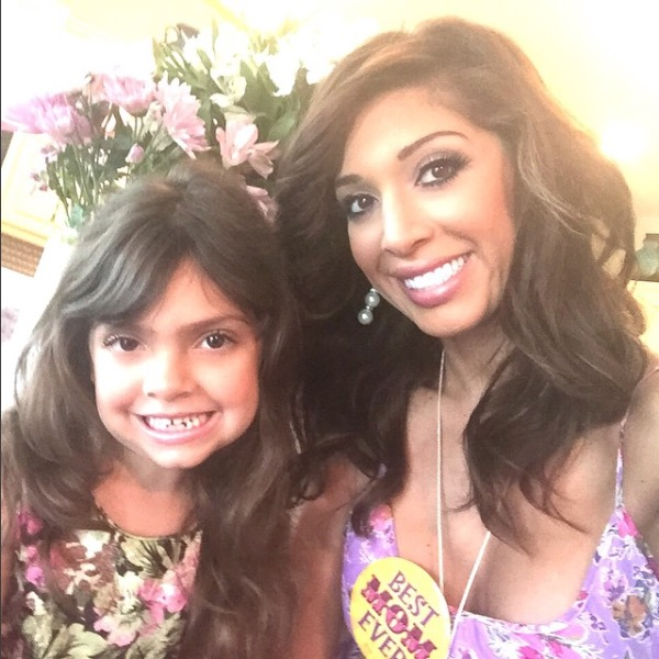 Teen Mom's Farrah Abraham and daughter Sophia on Mother's Day