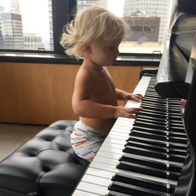 Jessica Simpson's family photos are totally beautiful: Ace is musical like his mom