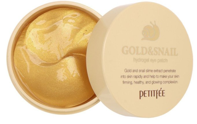Skin Care Products Moms Love: Petitfée Gold & Snail Hydrogel Eye Patches