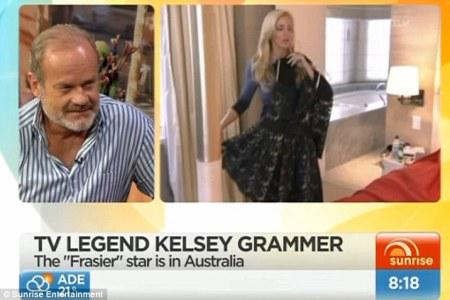 Kelsey Grammer has a meltdown after