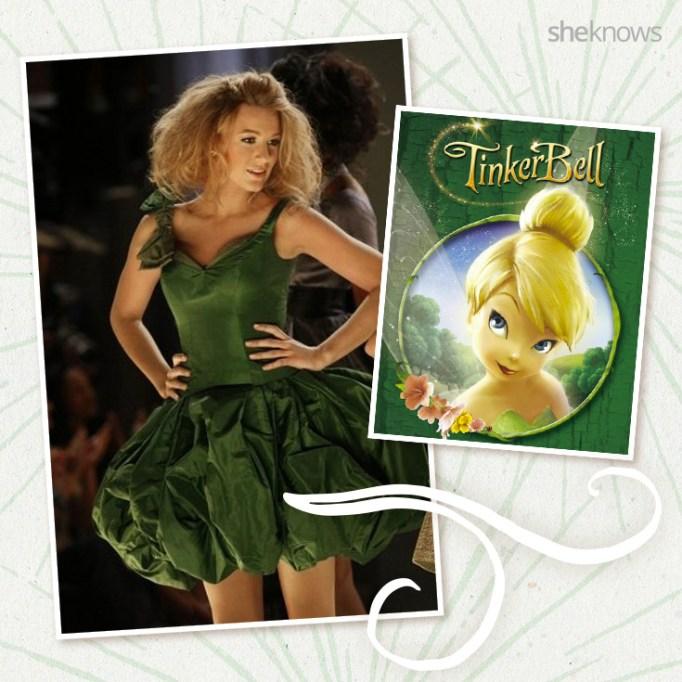 Blake Lively as Disney's Tinker Bell