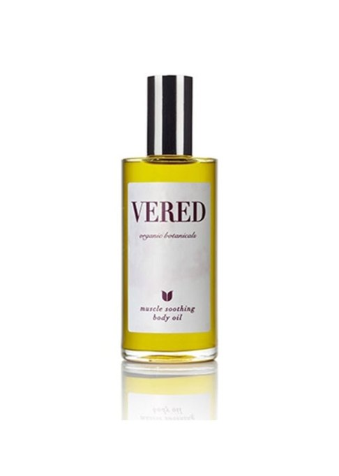 Vered Botanicals Muscle Soothing Massage Oil