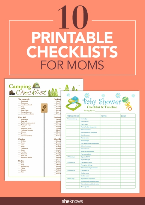 Checklist pin