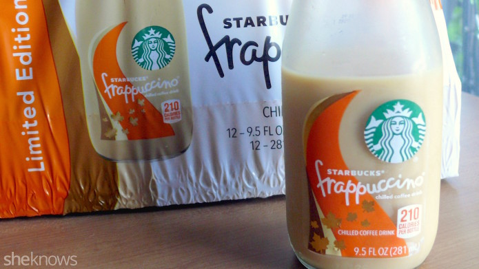 Starbucks bottled Pumpkin Spice Frappuccinos: This