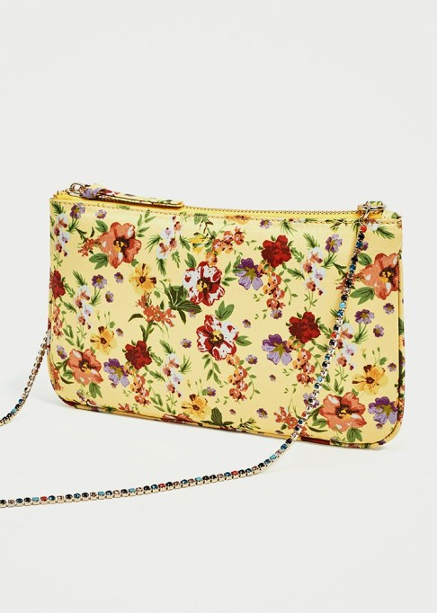 Clutches That Will Actually Hold Your Stuff | Floral Print Clutch