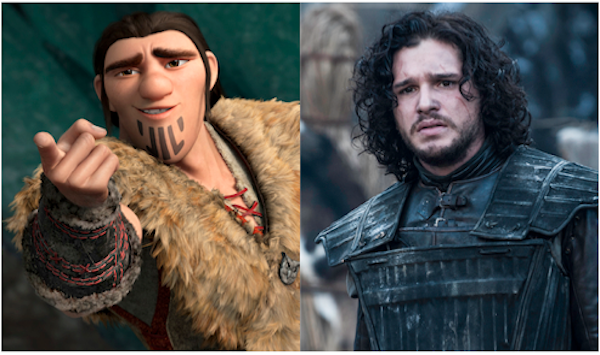 How to Train Your Dragon 2 vs. Game of Thrones