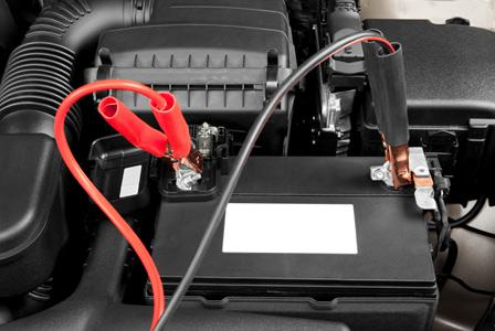 How to jump-start a dead battery
