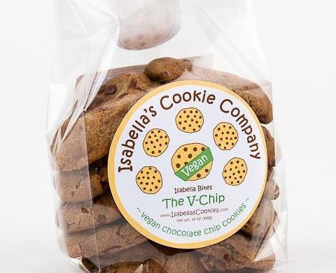 Isabella's Cookie Company has vegan cookies