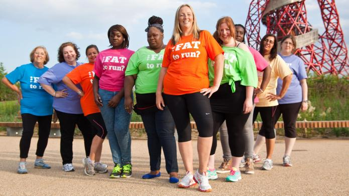 """Fat girl"" challenges runners' stereotypes"