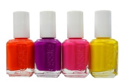 Essie nail color in Braziliant