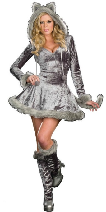 Sexy Halloween Costumes: Big Bad Wolf