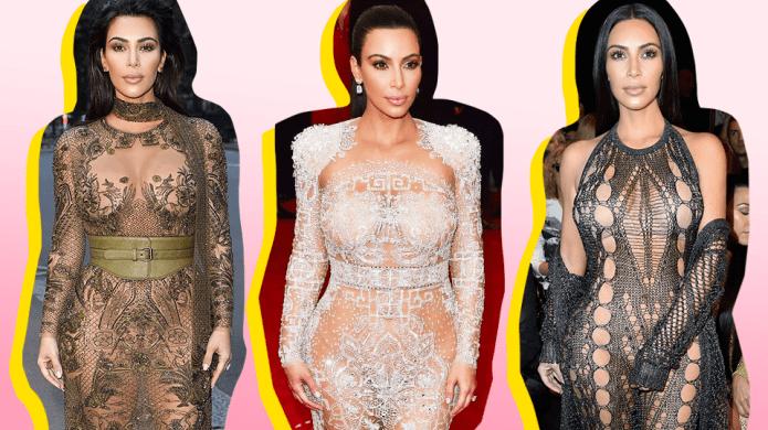 Kim Kardashian West's 15 Most Naked