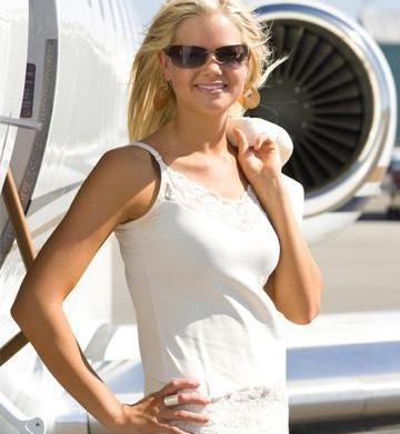 An inside look Into private jet
