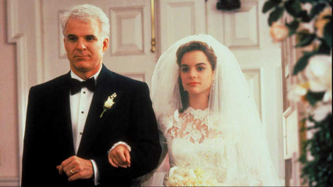 Wedding scene from 'Father of the Bride'