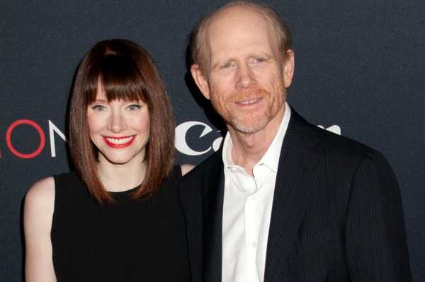 Celebrities with famous fathers: Bryce Dallas Howard & Ron Howard