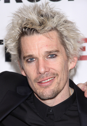 Ethan Hawke with white hair