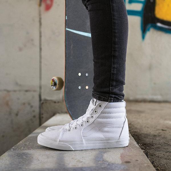 Vans SK8-HI Slim canvas sneakers