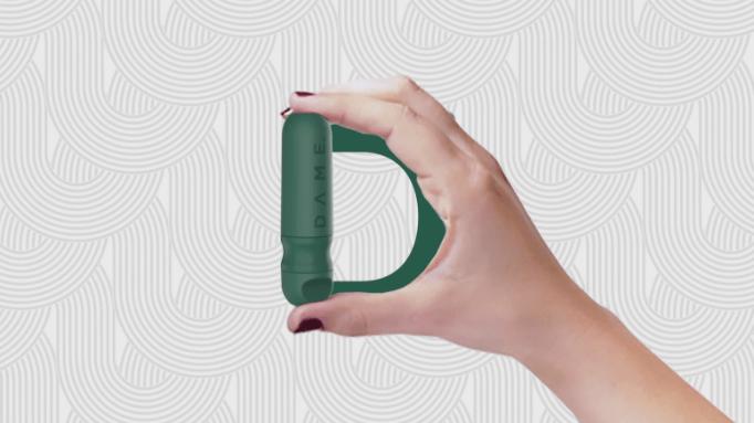 Dame reusable tampon applicator