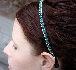 etsy chain headband