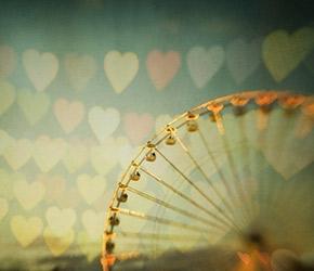 etsy ferris wheel art